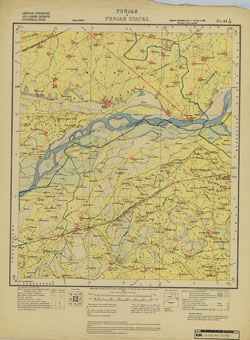 Punjab & Punjab States, No 44 I/16